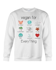 vegan for every thing Crewneck Sweatshirt thumbnail