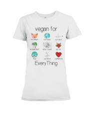 vegan for every thing Premium Fit Ladies Tee thumbnail