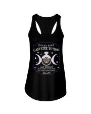 Witch brew caffeine potion Ladies Flowy Tank thumbnail