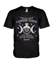 Witch brew caffeine potion V-Neck T-Shirt thumbnail