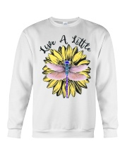 Live a little Crewneck Sweatshirt tile