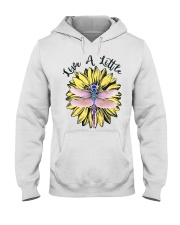 Live a little Hooded Sweatshirt tile