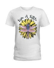 Live a little Ladies T-Shirt front
