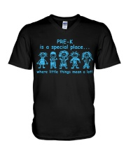 Pre K is a special place V-Neck T-Shirt thumbnail