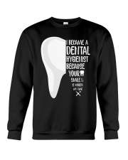 Dental hygienist Crewneck Sweatshirt thumbnail