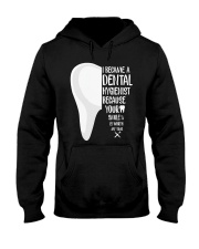 Dental hygienist Hooded Sweatshirt thumbnail