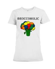 Broccoholic Premium Fit Ladies Tee thumbnail