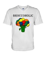 Broccoholic V-Neck T-Shirt thumbnail