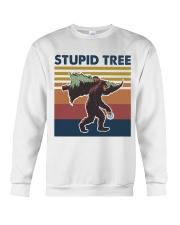 Stupid tree Crewneck Sweatshirt thumbnail