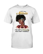 Attitude Classic T-Shirt front