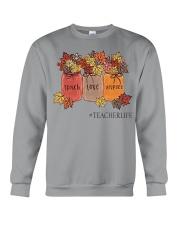 Teacher life Crewneck Sweatshirt thumbnail