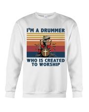 I'm a drummer Crewneck Sweatshirt thumbnail