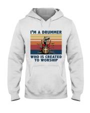 I'm a drummer Hooded Sweatshirt thumbnail