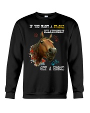 Get a horse Crewneck Sweatshirt thumbnail