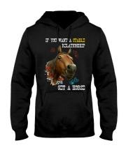 Get a horse Hooded Sweatshirt thumbnail