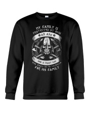 My family is protected by Odin Crewneck Sweatshirt thumbnail