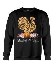Thankful for vegan Crewneck Sweatshirt thumbnail