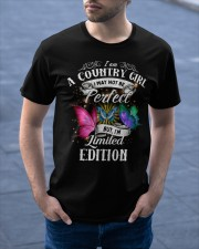 I am a country girl Classic T-Shirt apparel-classic-tshirt-lifestyle-front-46