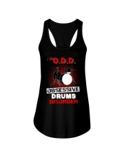 I have ODD obsessive drums disorder Ladies Flowy Tank tile