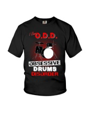 I have ODD obsessive drums disorder Youth T-Shirt tile