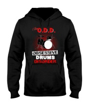 I have ODD obsessive drums disorder Hooded Sweatshirt tile