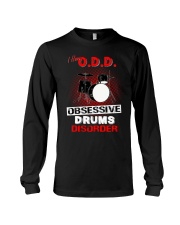 I have ODD obsessive drums disorder Long Sleeve Tee tile