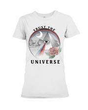 Trust the universe Premium Fit Ladies Tee thumbnail