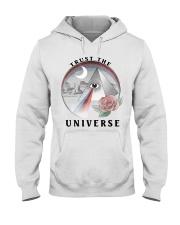 Trust the universe Hooded Sweatshirt thumbnail