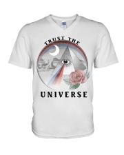 Trust the universe V-Neck T-Shirt thumbnail