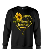 Happiness is being a teacher Crewneck Sweatshirt thumbnail