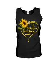 Happiness is being a teacher Unisex Tank thumbnail
