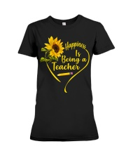 Happiness is being a teacher Premium Fit Ladies Tee thumbnail