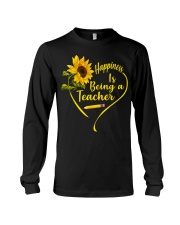 Happiness is being a teacher Long Sleeve Tee thumbnail