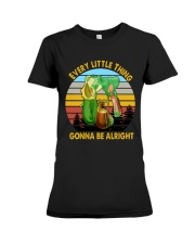 Every little thing gonna be alright Premium Fit Ladies Tee thumbnail