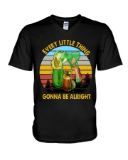 Every little thing gonna be alright V-Neck T-Shirt thumbnail