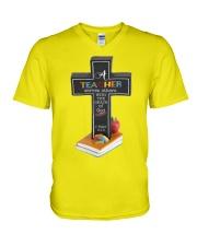 Grace of god V-Neck T-Shirt thumbnail