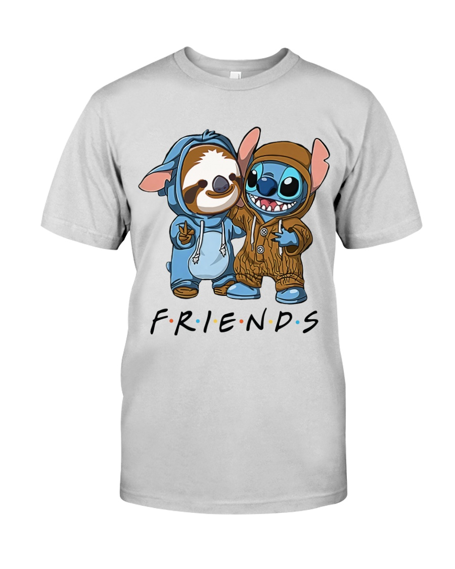 Sloth Friends Premium Fit Mens Tee
