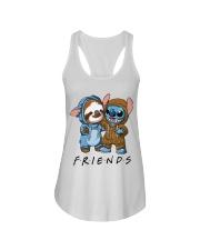 Sloth Friends Ladies Flowy Tank thumbnail