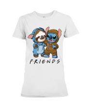 Sloth Friends Premium Fit Ladies Tee thumbnail