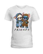 Sloth Friends Ladies T-Shirt thumbnail