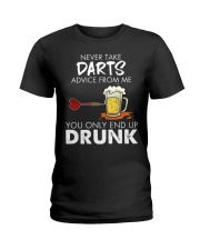 Darts Ladies T-Shirt thumbnail