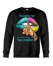 December girl Crewneck Sweatshirt thumbnail