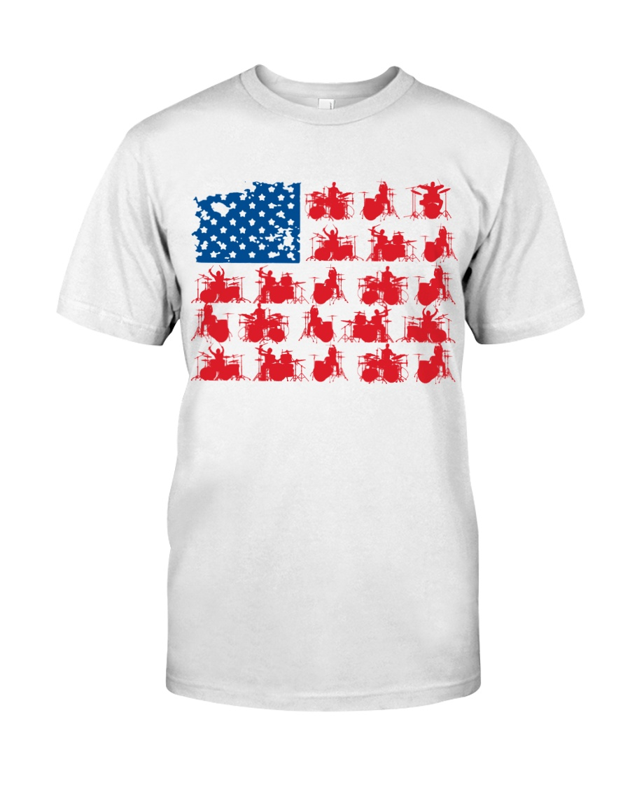 Drummer america Classic T-Shirt