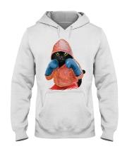 Cat boxing Hooded Sweatshirt thumbnail