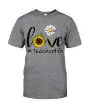 Love teacher life Classic T-Shirt tile