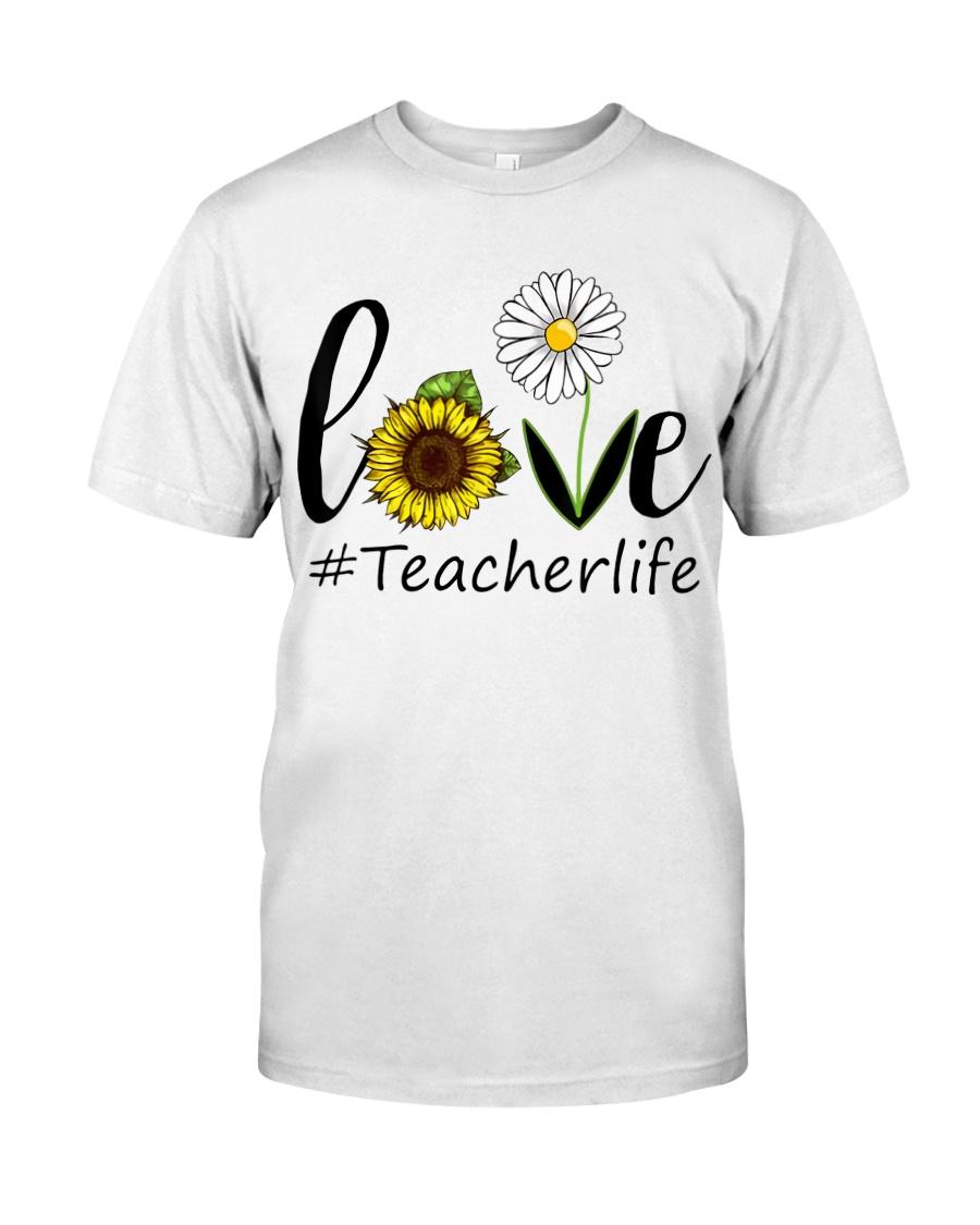 Love teacher life Classic T-Shirt