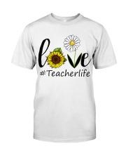 Love teacher life Classic T-Shirt front