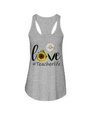 Love teacher life Ladies Flowy Tank thumbnail