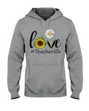 Love teacher life Hooded Sweatshirt thumbnail