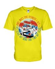 Pre K teacher life V-Neck T-Shirt thumbnail